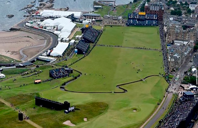 the open 2021 returns to st andrews  scotland