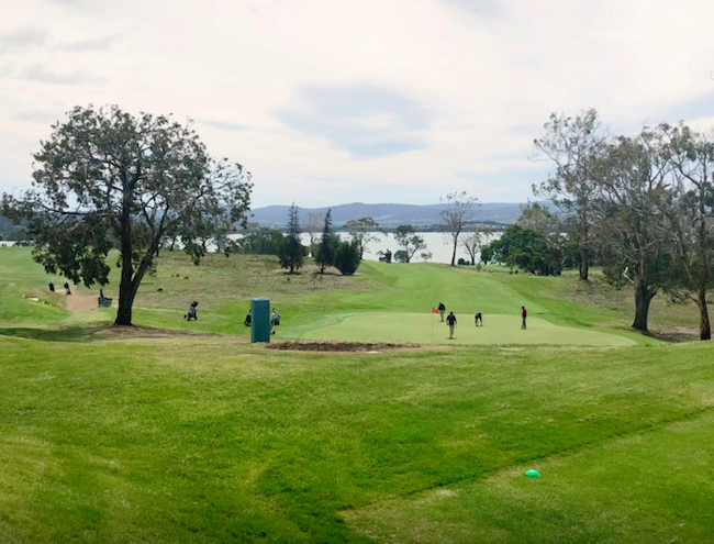 2019 Tasmania Golf Tour group - Day 1