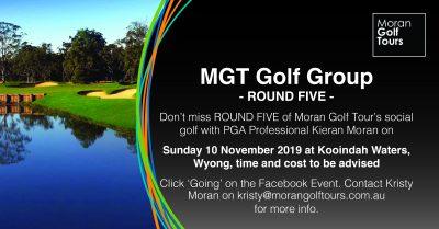 Social Golf round 5