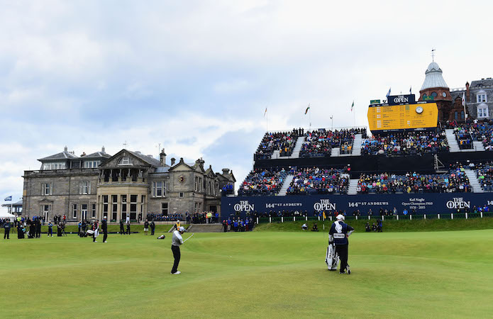 The 150th Open at St Andrews