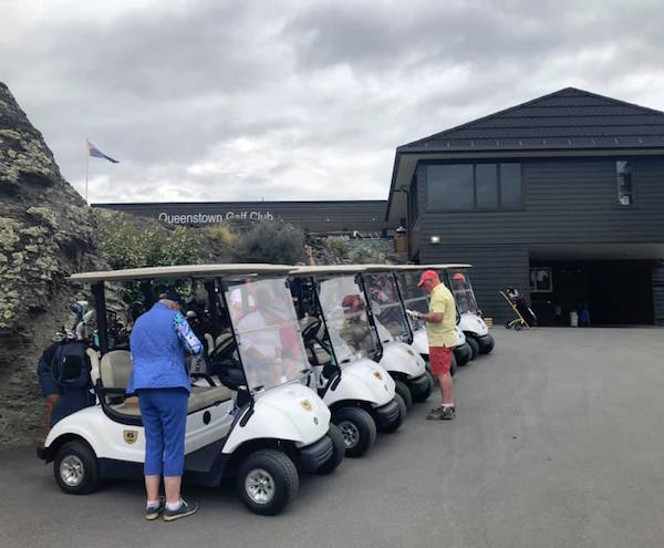 2020 New Zealand Golf Tour group